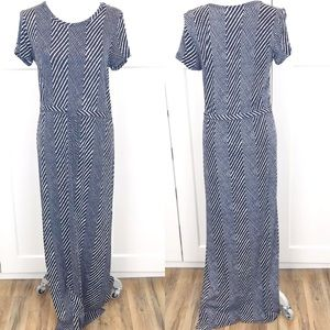 Michael Michael Kors short sleeve maxi dress